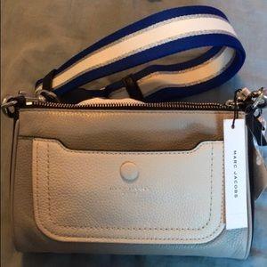Marc Jacobs color-blocking crossbody bag
